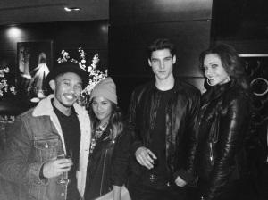 Aylmer, Eda, Chris, Me