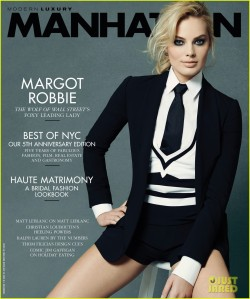 Manhattan Magazine featuring Margot Robbie