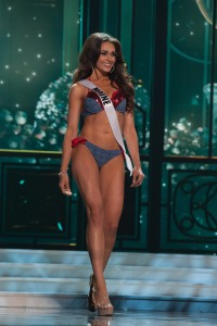 Heather Elwell, Miss Maine USA 2015, competes in her Sun Kitten swimwear and Chinese Laundry shoes during the preliminary competition of the 2015 MISS USA pageant at the Baton Rouge River Center on Wednesday, July 8th. The 2015 Miss USA contestants are touring, filming, rehearsing and preparing to compete for the D.I.C. Crown in Baton Rouge, Louisiana. Tune in to the Reelz telecast at 8:00 PM ET on July 12, 2015 live from the Baton Rouge River Center to see who will be crowned Miss USA 2015. HO/Miss Universe Organization L.P., LLLP